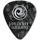 PLANETWAVE б┌25╕─е╗е├е╚б█Planet Waves by D'Addario е╫еще═е├е╚ежезб╝е╓е╣ е╘е├еп 1CBKP7-25 Celluloid Black Pearl 1.25mm е╣е┐еєе└б╝е╔╖┐ 25╦ч╞■дъ 0019954959463