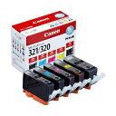 その他 【純正品】 キヤノン(Canon) インクカートリッジ 5色マルチパック 型番:BCI-321+320/5MP 単位:1箱(5色セット) ds-1098164