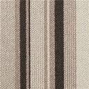 その他 東リ タイルカーペット スマイフィール アタック350RS AK3554RS サイズ40cm×40cm 色 つち縞 10枚セット 【防ダニ・洗える(ウォッシャブル)】 【日本製】 ds-1288158
