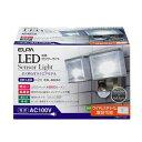 その他 ELPA(エルパ) 屋外用センサーライト AC電源 8wLED 2灯 ESL-802AC d...