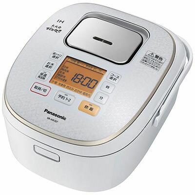 RoomClip商品情報 - 【代引手数料無料】パナソニック 5.5合炊きIHジャー炊飯器(スノーホワイト) SR-HX107-W【納期目安:2週間】