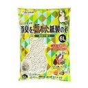 その他 (まとめ)CMミュウサンド消臭を極めた紙製の砂6L【ペット用品】【×7セット】 ds-1628941