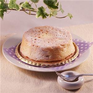 その他白いチーズケーキ2台(直径約12cm)ds-1653934