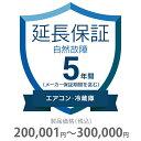 その他 5年間延長保証 自然故障 エアコン・冷蔵庫 200001~300000円 K5-SA-253224