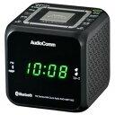 オーム電機 ワイドFM/ AM クロックラジオ(ブラック) RAD-MBT100Z-K【納期目安:約10営業日】