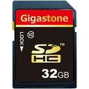 その他 (まとめ)Gigastone SDHCカード32GB class10 GJS10/32G 1枚【×2セット】 ds-2139104