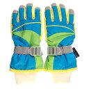 SMOGPERFORMER 【幼児用】 スキー スノボー 手袋 グローブ (ブルー) サイズ/KM AC-074-BLKM