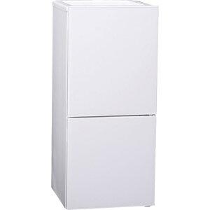 ツインバード ちょっと大きめ冷蔵庫。ひとり暮らしにピッタリサイズ。2ドア冷凍冷蔵庫 HR-E911W