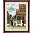 その他 【フェルメールの代表作】謎多き画家 鮮やかな青色 ■ヨハネス・フェルメール(Johannes Vermeer)F6号 デルフトの小路 ds-2257753