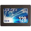 その他 アドテック SSD L10シリーズ 3DTLC 2.5インチ SATA 128GB AD-L10D128G-25I 1台 ds-2289391