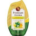 その他 (まとめ)エステー お部屋の消臭力 PremiumAroma レモングラス&レモン 400m...
