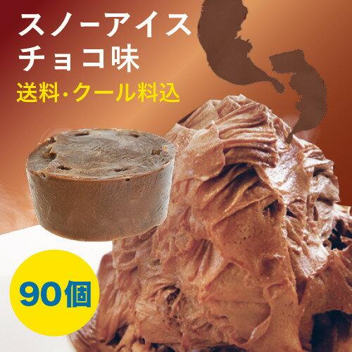 【iceworld】スノーアイスチョコ味 フラワースノーアイス用 150g 90個 1ケース 送料無料