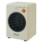 TEKNOS モバイルセラミックヒーター 300W ホワイト TS-300