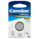 【使用推奨期限 2018年10月】Camelion カメリオン ボタン形リチウム電池 Micro Batteries CR2032-BP1