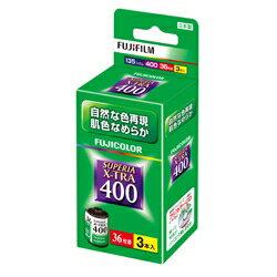 富士フイルム SUPERIA X-TRA400 [135 36枚撮 3本パック]