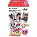 【ポスト投函便】FUJIFILM(フジフィルム)チェキフィルム ミッキー&フレンズ
