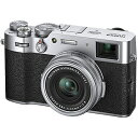 【納期2ヶ月前後】富士フィルム デジタルカメラ F X100V-S シルバー