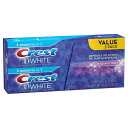 クレスト3Dホワイト ラディアントミント歯磨き粉 136g×2 お買い得セット (Crest 3D Radiant Mint)