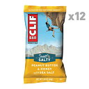 CLIF BAR Sweet & Salty Energy Bar - Peanut Butter & Honey with Sea Salt 68g 12本入り