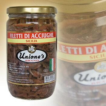 【送料無料】【同梱不可】 お得な6個セット Unions's Anchovy ユニオンズ イタリア シチリア産 ピース アンチョビ 720g瓶×6 6個セット【16P03Nove15】