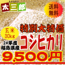 30 kg of unpolished rice free shipping [2012] ! [free shipping] spend 24 yearly output Fukushima products; 30 kg of Hikari unpolished rice [smtb-TD] [tohoku] [free shipping]