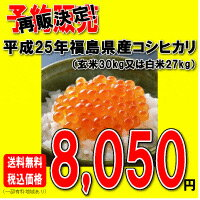 Koshihikari rice rice, Fukushima Prefecture, March 24, 2003 produced thick Saburo 25 kg
