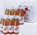 【送料無料】 無添加りんご果汁100%ジュース12本セ