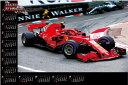 カレンダー F1レースカレンダー グランプリ2020 F1グランプリ 不織布カレンダー 特大サイズ 2020年カレンダー  令和2年カレンダー レーシングカー カレンダー