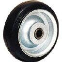 【送料無料!TRUSCO工具が安い(トラスコ中山)】OH プレスキャスター 車輪のみ ゴム車 200mm OH35M200 [137-6209] 【プレート式ゴム車】[OH35M-200]