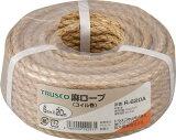 【送料無料!TRUSCO工具 お買い得特価(トラスコ中山)】TRUSCO 麻ロープ 3つ打 線径6mmX長さ20m R620A [511-3326] 【ロープ】[R-620A]