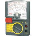 【送料無料!絶縁抵抗計・電気抵抗測定器が割引価格】SANWA アナログ絶縁抵抗計 500V/250V/125V PDM5219S [423-9687] 【電気測定器・テスタ】[PDM5219S]