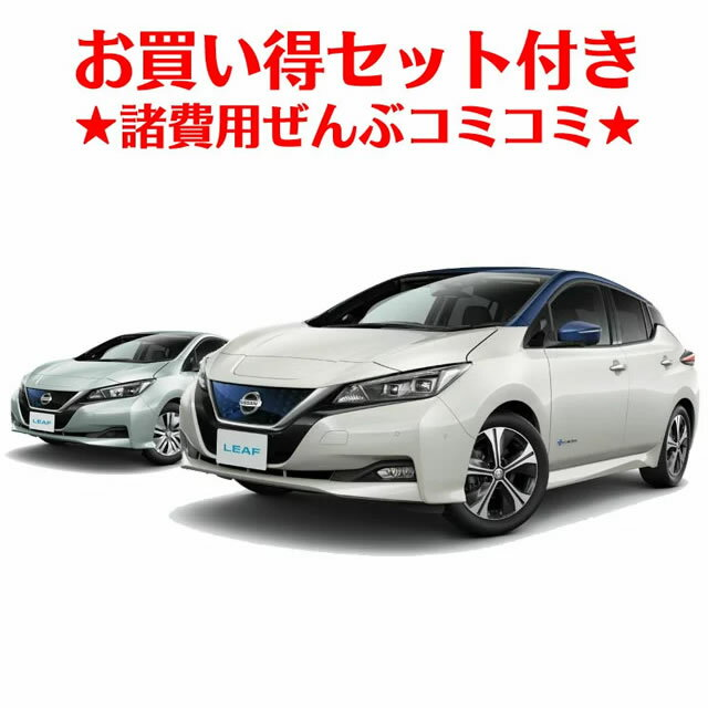 新車 日産 リーフ 2WD G 電気自動車 ★ボディコーティング/フロアマット★  5年間の延長保証付き 特別色は別途費用