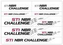【STI-スバル】新・NBR転写ステッカー STSG14100210ニュルブルクリンク24時間STINBRチャレンジチーム【コンビニ受取対応商品】【ゆうパケット(メール便)OK】