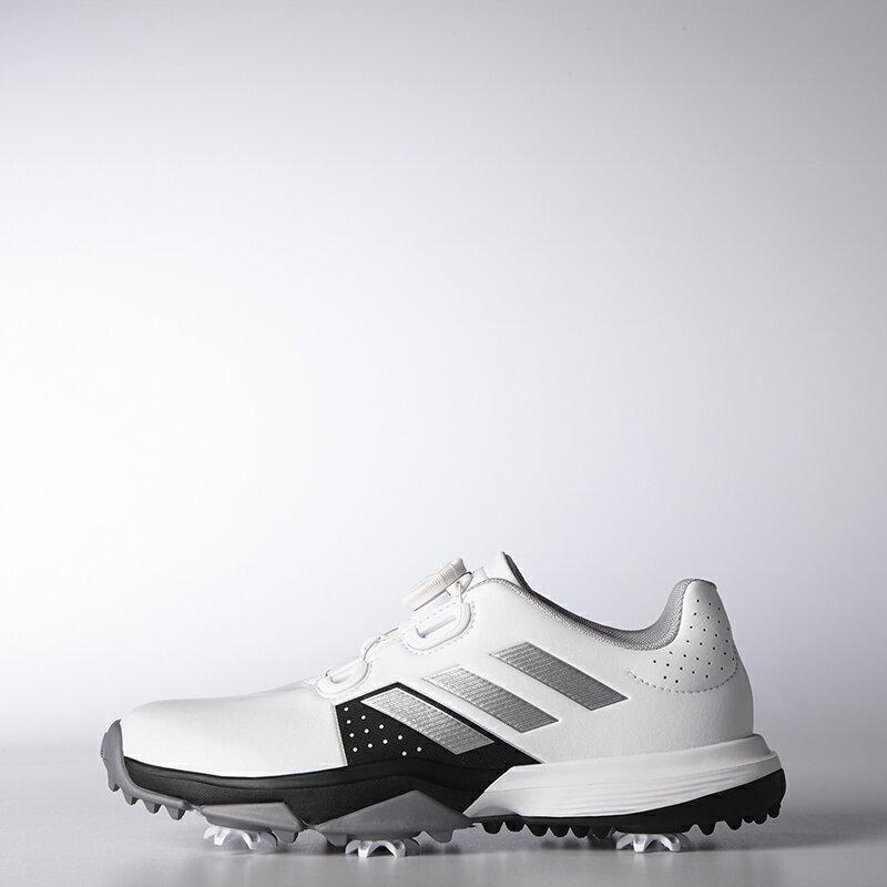 アディダスゴルフ(adidas Golf) Jr adipower Boa / ジュニア アディパワー ボア/ホワイト/シルバーメタリック   /WI901 /F33535 【送料無料】 アディダスゴルフ 公式ショップ