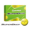 テーラーメイドゴルフ(TaylorMade Golf) SuperDeep ボール イエロー