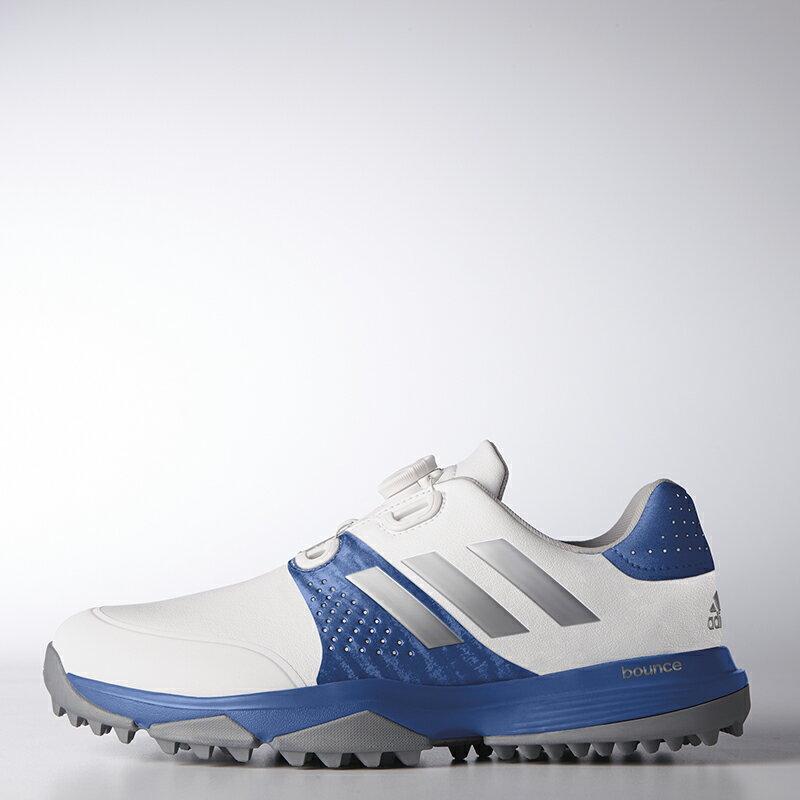 アディダスゴルフ(adidas Golf) adipower bounce Boa / アディパワー バウンス ボア/ホワイト/シルバーメタリック   /WI884 /Q44781 【送料無料】 アディダスゴルフ 公式ショップ