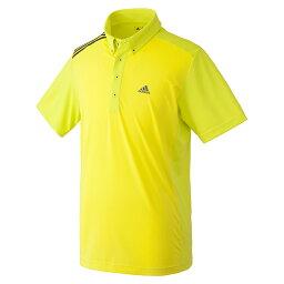 アディダスゴルフ(adidas Golf) CS ショルダーストライプ S/S シャツ/ショックスライム /LNN01 /BC5639