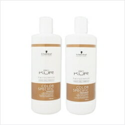 Schwarzkopf カラースペシフィーク shampoo 1000 ml & treatment 1000 g set _ hair _ shampoo _ Rakuten _ mail-order 02P18Oct13