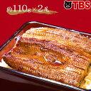 浜名湖 はねだしうなぎ長焼き/110g×2尾(タレ・山椒・吸物×各2袋) 【TBSショッピング】