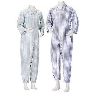供護理使用的睡衣間接護理睡衣褲[微型挂鈎型]護理衣服護理睡衣護理用品