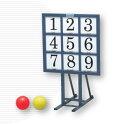 《送料無料》ボールを投げて的を抜く、野球感覚で遊べる遊具です【モルテン】ナンバーストライ...
