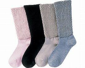 婦女的護理衣服和衛生的襪子,襪子的襪子頭髮共混物和長短襪 / 襪子 (短襪 / 襪子 / 防滑 / すべりどめ / 滑 / 女士 /) HL854 瀑布預防襪子衣服在乎