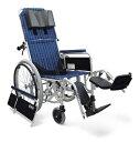 リクライニング車椅子 RR52-NB[バンド式介助ブレーキ付] 車いす 送料無料 リクライニングカワムラサイクル