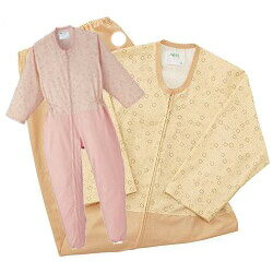 護理的衣服組合篡改開放式護理衣服護理睡衣套裝 (天使) (福利) () () (護理用品和福利設備晚安晚上穿穿睡衣睡衣)