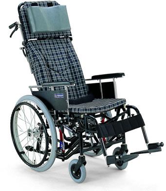 ティルティング&リクライニング自走用車椅子KX22-42Nカワムラサイクル車いす送料無料ティルト機構