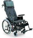 ティルティング&リクライニング自走用車椅子 KX22-42Nカワムラサイクル車いす 送料無料 ティルト機構 リクライニング ティルト