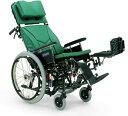 ティルティング&リクライニング自走用車椅子 KX22-42EL[エレベーティング&スイングアウト]車いす 送料無料  ティルト機構 リクライ..