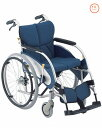 アルミ自走式折りたたみ車椅子車いす 送料無料 松永製作所(介護用品/介護/福祉用具/車いす/