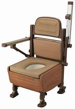 家具調ポータブルトイレあらえ〜る(ポータブルトイレ簡易トイレ介護用非常用介護用便座介護トイレ介護用品