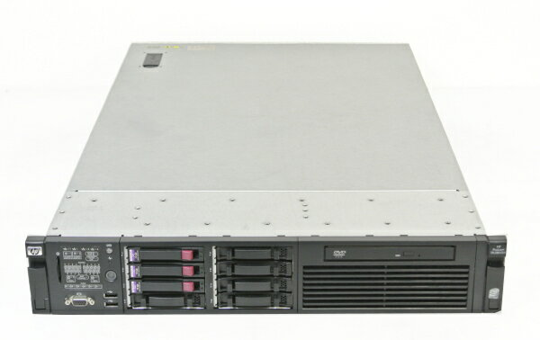 hp ProLiant DL380G6 XeonE5540-2.53GHz/6G/73G*3/RAID/DVD/AC*2 【中古】【20141120】